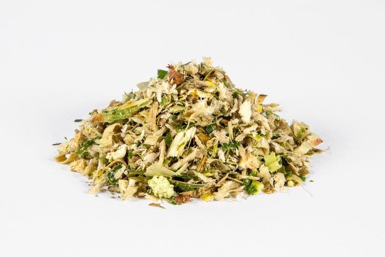 Ensilage de pulpes de betteraves sucrières pressées (50%), ensilage de maïs plante entière (50%), bouttes d'env. 1000 kg